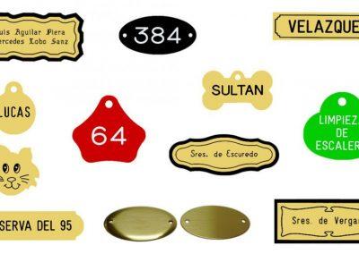 tipos de placas grabado
